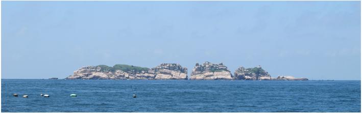 比较主要的有庙子湖岛,黄兴岛,青浜岛以及西福山岛,东福山岛.