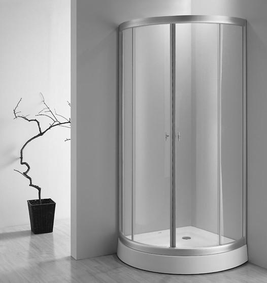 合页式淋浴房一般采用无边框设计