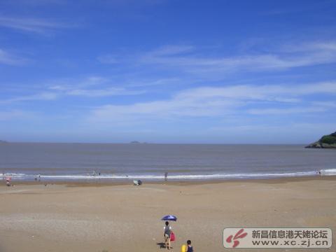 宁波象山鹤浦大沙沙滩--一个原生态旅行的好地方