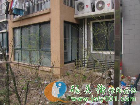 江苏省溧阳市盛世华城小区阳光雨棚真相大吐槽 高清图片