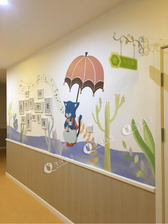 众艺墙体彩绘幼儿园作品
