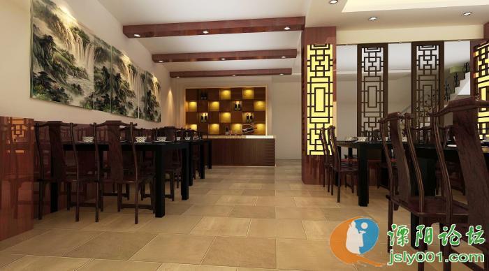 先来发二张 大阿福川菜馆>的店内效果图