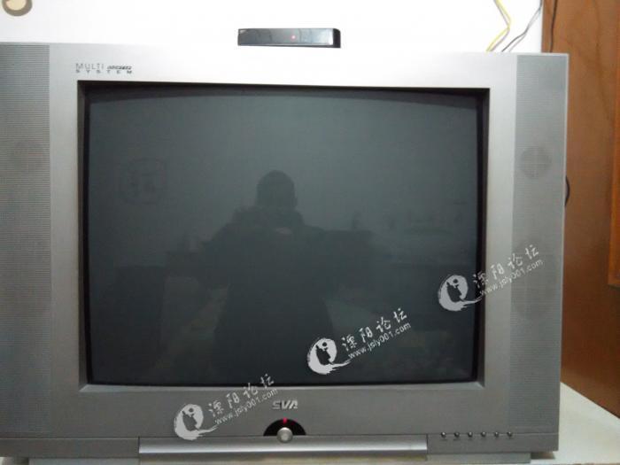 """23寸电视机,颜色不怎么好了,用了多年,显像管有点老化,黑色红色特别深。但还能看看。 80元自提 要的联系QQ:29045325 再低,我直接卖给回收电视的了 750)this.width=750;"""" title=""""点击查看原图"""">"""