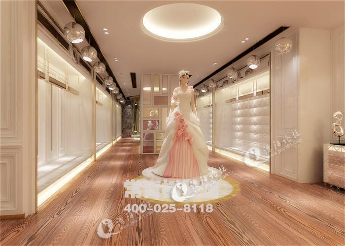 【常青树装饰】婚纱店面装修-码头街-溧阳码头街