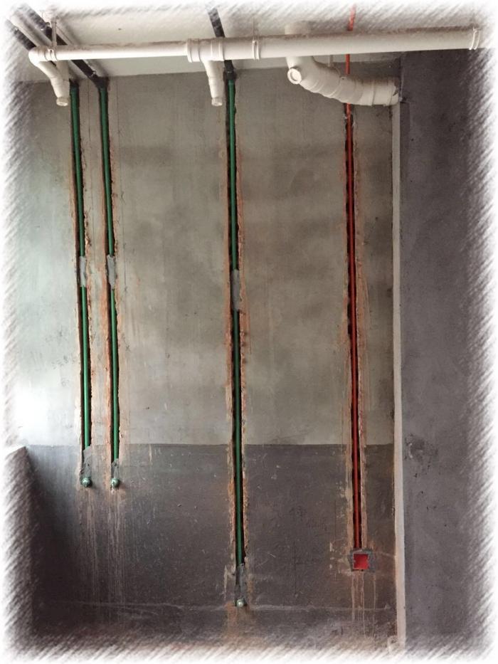 锦华装饰水电工艺展示